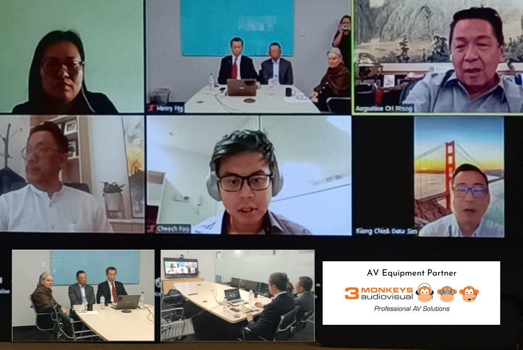 International Connection through Video Conference