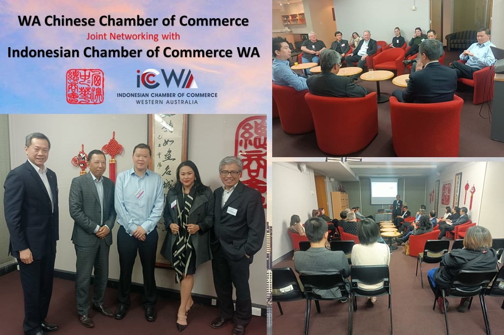 Joint Networking with Indonesian Chamber of Commerce WA